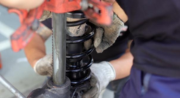 Volkswagen Rear Spring Repair