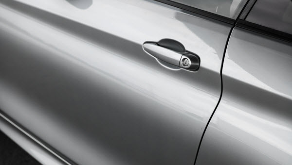 Car Door Without Scratches