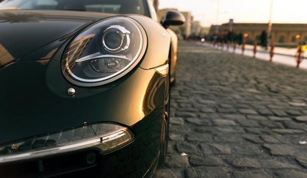 Porsche Head Light