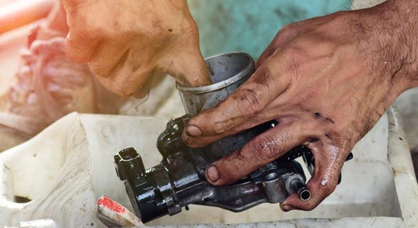 Jaguar Throttle Cleaning