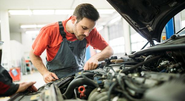 Mercedes V12 Engine Repair