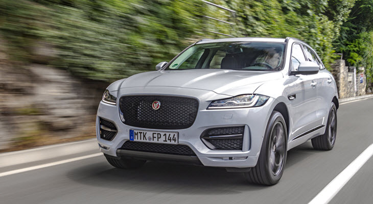 Jaguar F-Pace Car