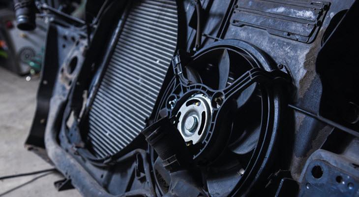 Volvo Cooling Fan Module