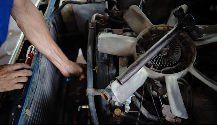 Volvo Cooling Fan Motor Check