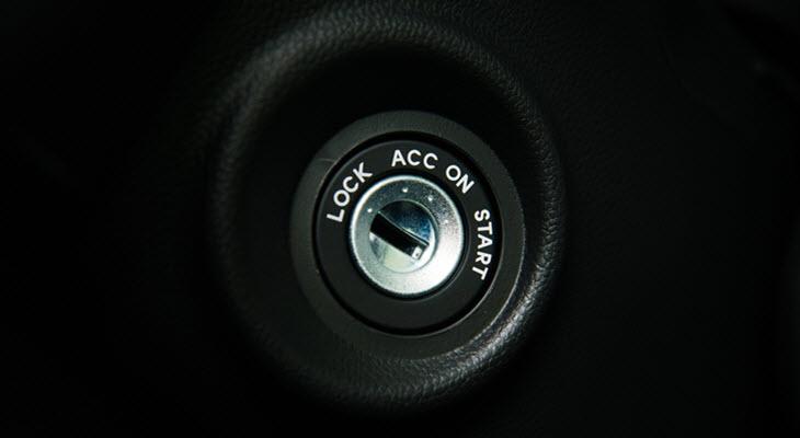 Porsche Ignition Lock