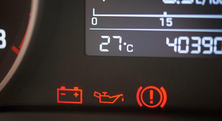 Volvo Low Oil Pressure Warning